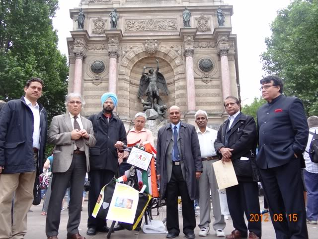 Friends of India Association in Paris, France, 15 June 2012