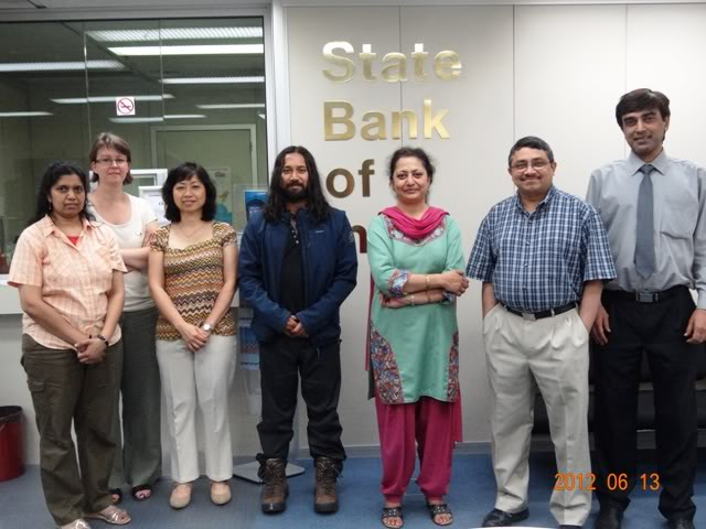 State Bank of India in Paris, Wednesday, 13 June, 2012