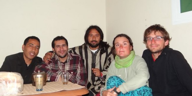 CS friend Houssine and accommodation in Nador, Morocco