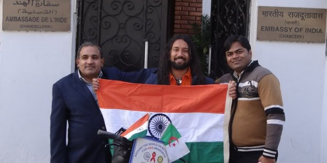 Indian Embassy in Algiers, Algeria, 12 December 2012