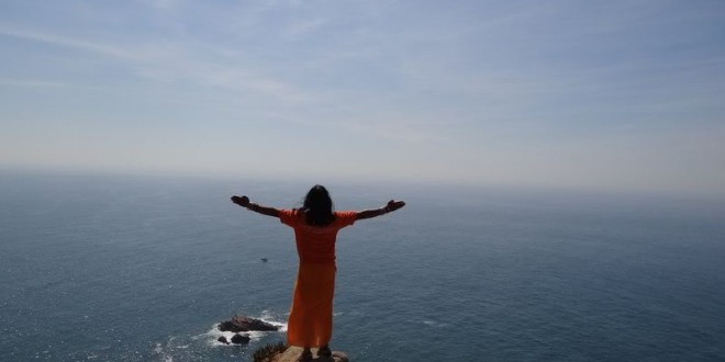Most western part of Europe called Cabo da Roca.Portugal, 5 September 2012