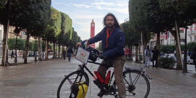 Cycle event in Tunis, Tunisia