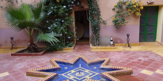 Accommodation in Marrakech, Morocco, 8 nov 2012