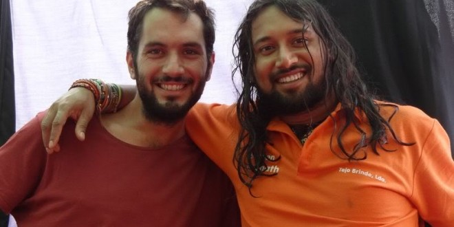 A coincident meeting with Diego in Badajoz, Spain, 16 sept 2012