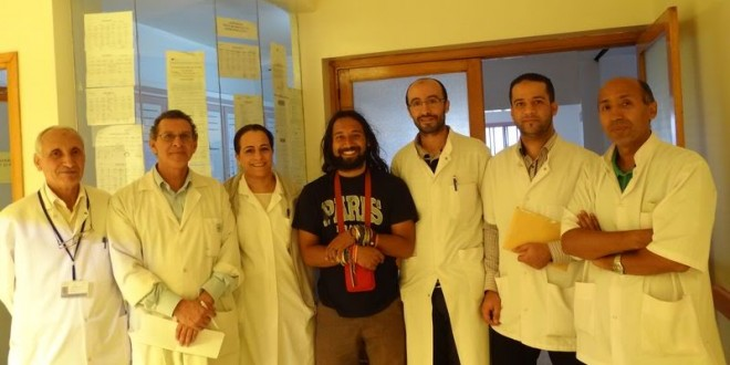 Visit HIV/AIDS department with Doctors CHU Ibn Sina Hospital in Rabat, Morocco