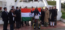 Flag off by Ambassador and embassy of India Tunis, Tunisia