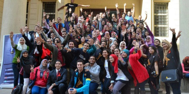 HIV/AIDS Session in Enactus Cairo University, feb 2013