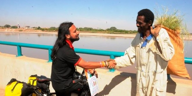 Blue Nile – White Nile meeting in Sudan