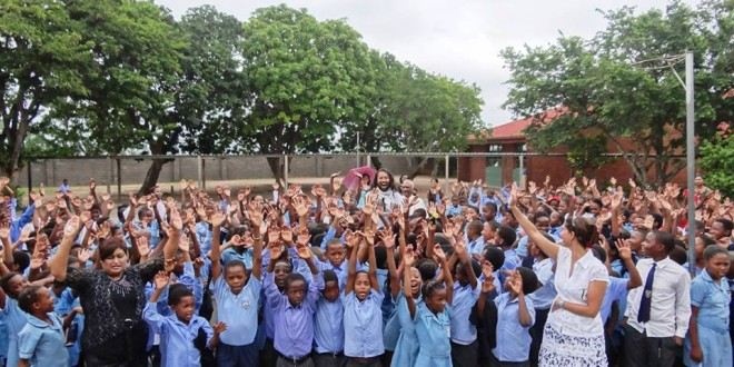 Beacon Ridge Pimary School in Chatsworth, South Africa – 20/02/2015