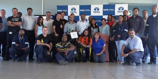 TATA Richards Bay presentation, South Africa, 23 FEB 2015