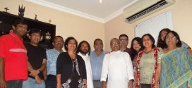 1 March 2015 – lunch with Bengali families at Mount Edgecombe in Durban, South Africa.