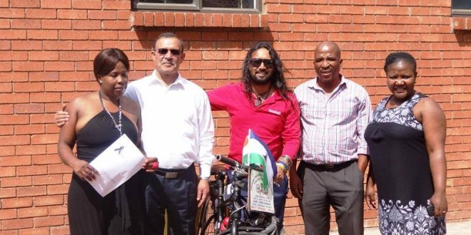 Interview for Lesotho Radio and Newspaper, 11 March 2014