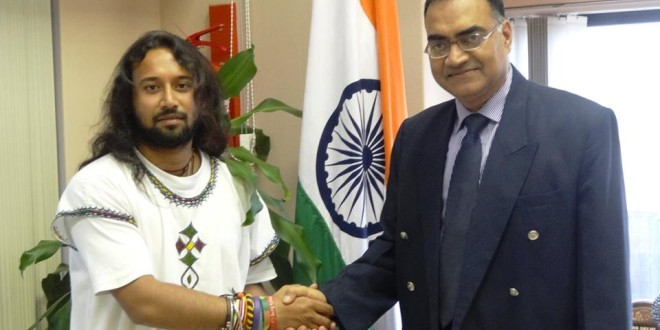 Meeting with Mr.  Raghunathan, the Consul General of India in Durban, South Africa, 2nd of March 2015