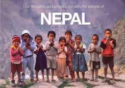 Let's pray for Nepal and help how we can!