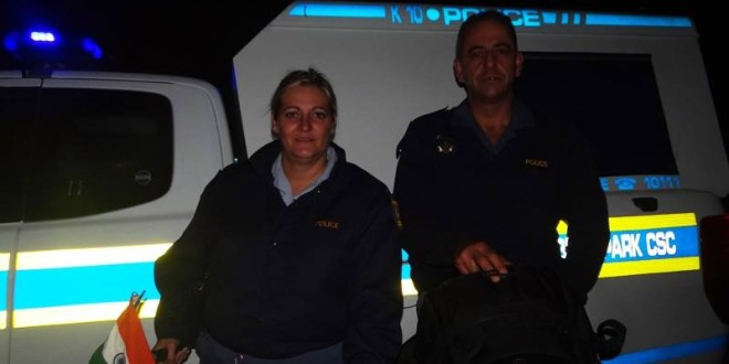 6 April 2015 – Night stay in tent at Police Station
