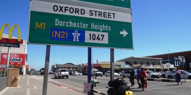 Travel from East London to Port Elizabeth in South Africa: 1 April 2015