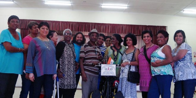 Rylands Lotus Senior Social Club at Siva Aalayam, Shiva temple of Rylands, Cape Town, South Africa – 11/04/2015