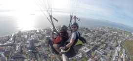 Paragliding in Cape Town, 19 april 2015