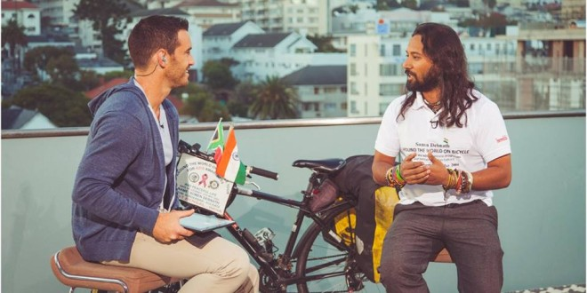 20/04/2015. Monday – South African Broadcasting Corporation SABC 3 in Cape Town, South Africa