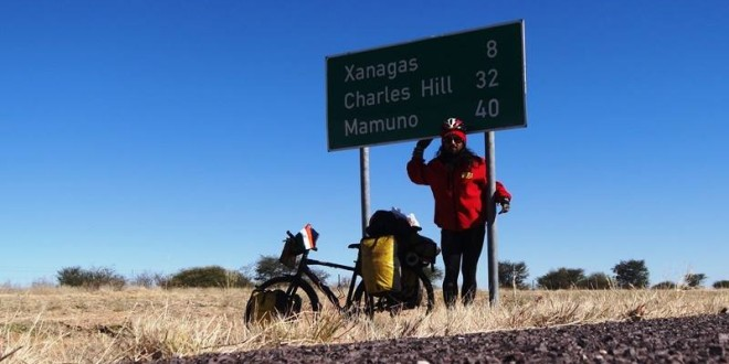 The border from Botswana to Namibia – 18 June 2015